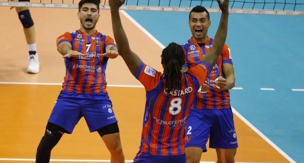 Qualifiés pour les 1/2 finales : Extraordinaire GFCA Volley !