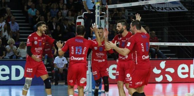 U GFCA face piegà u campione di Francia (3-1)